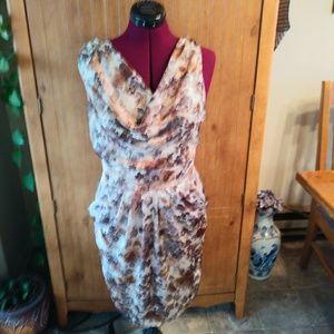 Mystic Cowell Neck Sleeveless Dress